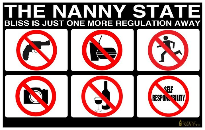 The Nanny State: Bliss is just one regulation away
