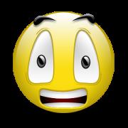 smiely-resignado-asustado