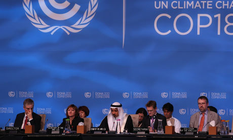 Doha climate talks
