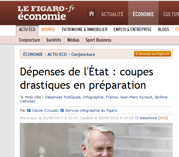 france-expenses-governement-cut